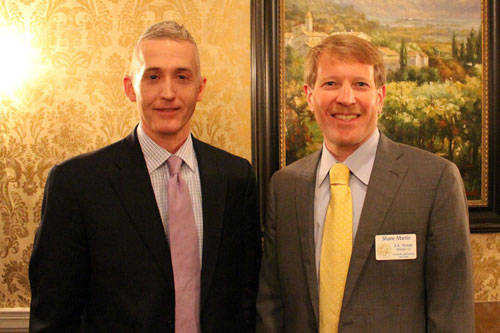 Shane with Congressman Trey Gowdy